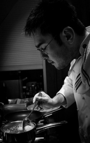 Santiago Kano - a new addition to The Kitchen team