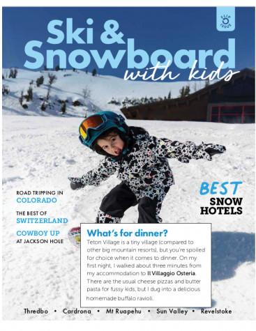 Ski and Snowboard with Kids